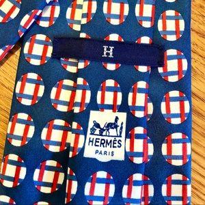 Hermès Paris Wide Silk Bold Tie